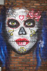 Zazumma mural (Eileen NDG) Tags: canada december montreal quebec winter mural streetart publicart