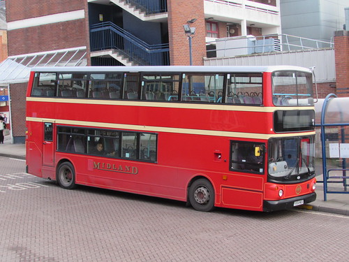 Worcester: Midland Red double-decker bus (Worcestershire)