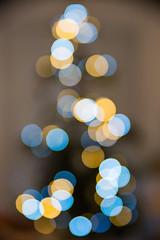 Christmas tree's bokeh (ZeGaby) Tags: christmastree bokeh pentax2470mm pentaxk1 tree newyear france