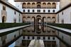 Patio de los Arrayanes - Alhambra - Granada (raffaele pagani) Tags: alhambra alḥamrā qalʿatalḥamrā alcazaba palaciosnazaries stileislamico stilemudejar islamicstyle mudejarstyle granada andalusia spagna spain spagnadelsud southernspain cittàmurata walledcity medina colledellasabika hillofthesabika unesco unescoworldheritagesite patrimoniodellunesco patrimoniomondialedellumanità canon