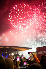 Fireworks in Vancouver, New year's Eve 2018 (Henry_pic) Tags: fireworks travel vancouver canada canadaplace ayouthdiary canon new years eve night