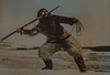 Inuit harpoon thrower in Labrador (1920s) (frankmh) Tags: eskimo inuit harpoon labrador 1920s