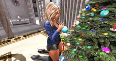 ADORYS - Isabel Fatpacks - (Shorts - Top - Bra) - Event - Cosmopolitan & L y r i u m - X m a s . M a g i c - [bento] (elektradexler1) Tags: adorsy exxess emilyc lyrium female sexi christmas blogger sl secondlife