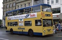 OJD231R Yellow Buses 534 Bournemouth (jc_snapper) Tags: ojd231r leylandfleetline dms londontransport metrocammell bus yellowbuses bournemouth