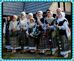 Christmas carols -- A Very Merry Christmas to All My Friends! (Ioan BACIVAROV Photography) Tags: carol carols colinde christmas craciun seasonsgreetings romania man men tradition girl woman women christmascarols wonderfulchristmas traditions costume bacivarov ioanbacivarov bacivarovphotostream interesting beautiful wonderful wonderfulphoto nikon girls fille filles femme fata fete glamour