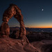 Delicate Evening in Arches National Park