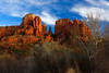Cathedral Rocks Sedona (topendsteve) Tags: sedona cathedral sunset sky rocks trees