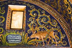 Mausoleum of Galla Placidia  DSC01323 (Chris Belsten) Tags: byzantine oratory iconography mausoleum westernromanempire earlychristianart byzantineart ravenna worldheritage romanempire mosaic mosaics gallaplacidia unesco church