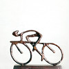 214 of Year 4 - Ride with the wind - AKA chrimbo pressie from me daughter (Hi, I'm Tim Large) Tags: 365 sculpture art fuji fujifilm xf xpro2 214 christmas present prizzie bike cycle bicycle racer 35mm f14