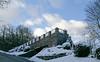 Dec 29: Winter House (johan.pipet) Tags: flickr house dom villa winter zima snow wall fence múr plot sky sneh dubravka dúbravka hill kopec bratislava slovakia slovensko eu europe palo bartos bartoš canon city mesto town
