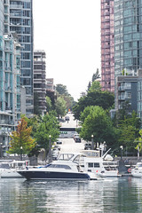 Vancouver-Harbour-Tour-74 (hotcommodity) Tags: urban landscape vancouver harbour tour boat seaplanes waterfront seawall inlet water ocean pacific coast bc britishcolumbia canada northwest park publicspace path trail working industrial commercial aircraft watercraft natural manmade buildings condos glass towers tall skyscrapers density expensive homeownership realty realestate