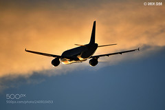 Engine (philipperavailler) Tags: ifttt 500px air sunrise aircraft flight snow airplane jet flying spotting takeoff soar spotter airliner taking off airport airbus canada cyul vehicle cfgyl