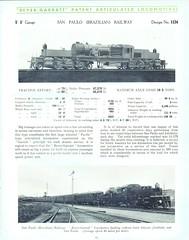 Beyer Peacock Locomotive Works - Beyer Garratt Catalogue 1931 (HISTORICAL RAILWAY IMAGES) Tags: steam locomotive bp beyerpeacock garratt ferrocarril railway brazil sanpaulo