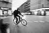Right here (Bjarne Erick) Tags: bike bicycle rush hurry speed slowshutter street