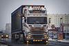 Scania R560 V8 Streamline Topline - Van der Lee Mesthandel (NL) (Michał Szczerbowski) Tags: scania r560 v8 streamline topline van der lee mesthandel naczepa livestock tuning reakcja