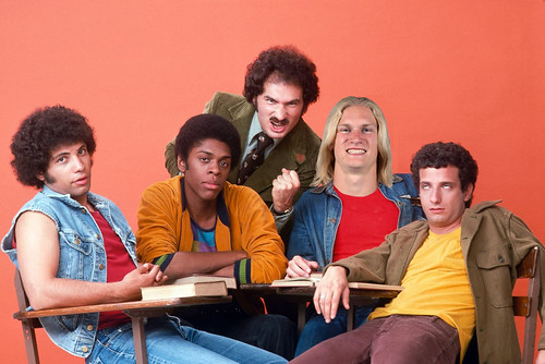 """Carolina Panthers receiver Brenton Bersin was ABC's first choice to play Vinnie Barbarino on """"Welcome Back Kotter""""."""