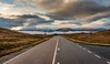 The Misty Road - Scotland 2017 (scamart1st) Tags: mist road scotland nikon d750 24120 mountains atmosphere calm vanishingpoint horizin snow winter colour