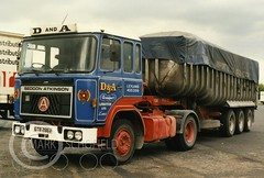 GTB286V SEDDON ATKINSON (Mark Schofield @ JB Schofield) Tags: jim taylor transport road commercial vehicle lorry truck wagon tipper tanker artic eight wheeler haulage contractor bulk haulier tractor unit