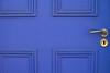 Kinda Blue (Rushay) Tags: blue door doorhandle handle hole portelizabeth southafrica
