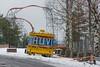 Huvim (pni) Tags: quiet metal tree red yellow plastic tape ribbon ride part text snow stone amusementpark fairground huvipuisto nöjespark särkänniemi tampere tammerfors finland suomi pekkanikrus skrubu pni