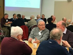 First Men's Breakfast of 2018. Guest speaker Peter Cooper.