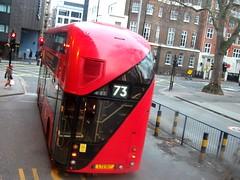 Arriva London LT517 on route 73 Euston station 06/01/18. (Ledlon89) Tags: london bus buses transport tfl lt lte londonbus londonbuses londontransport