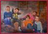 The Terrible Five (jta1950) Tags: person kids children child enfant boy garcon girl fille portrait texture musymas