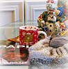Staying In! (snap713) Tags: books reading tea snowmen winter knitting