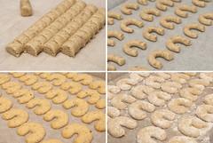 Vanillekipferl (seppi_hofer) Tags: dough teig pastry gebäck cookies kekse christmascookies weihnachtsgebäck dessert sweets süsigkeiten