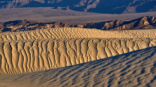 Nature Art - Mesquite Flat Dunes - Death Valley, California