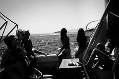 8 (Kostas Katsouris) Tags: women group boat astypalaia greece summer sea people street urban bw fuji xt10 islands cyclades astipalaia