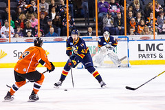 "Kansas City Mavericks vs. Colorado Eagles, December 16, 2017, Silverstein Eye Centers Arena, Independence, Missouri.  Photo: © John Howe / Howe Creative Photography, all rights reserved 2017. • <a style=""font-size:0.8em;"" href=""http://www.flickr.com/photos/134016632@N02/38428187334/"" target=""_blank"">View on Flickr</a>"