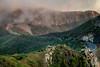 Country Roads II (Timor Kodal) Tags: kanaren la gomera canary islands insel felsen berge mountain sky himmel abendstimmung abendrot wolken nebel fog road strase landstrase kurve skurve curves sinuosa wiggly sinuous serpentinen