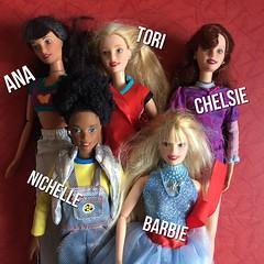 New Generation Girl Dolls - Wave 1 (MyMonsterHighWorld) Tags: generation girl doll mattel barbie 1999 2000 ana marissa wave 1 chelsie tori susie vicky nichelle