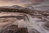 The Cauldron and Creise (Chris_Hoskins) Tags: wwwexpressionsofscotlandcom scottishlandscapephotography scotland winter glencoe goldenhour scottishlandscape ice landscape cauldron waterfall scottishwinter creise