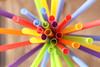 355/365 Straw Splay (Helen Orozco) Tags: straws colours splayed 2017365 colors plastic canonrebelsl1 random