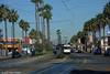 LOS ANGELES--138 appr Long Beach Blvd./8th Street OB. 3-slide sequence (2 of 3) (milantram) Tags: electricrailtransport railsystemslosangeles losangeles lacmta streetcars trolleys trams lightrail blueline