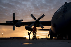 Ohio National Guard (The National Guard) Tags: mansfield ohio unitedstates us oh ohng ng nationalguard national guard guardsman guardsmen airmen airman air force 179th airlift wing respond flightline flight line sun rises sunrise c130h hercules early morning mission united states america usa military troops 2017