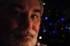 one more day (364/365) (werewegian) Tags: 365the2017edition 3652017 day364 30dec17 portrait ofme christmas tree lights bokeh werewegian dec17
