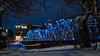 Blue (Jacques P Raymond) Tags: calgary alberta canada ca bridge bridgeland bowriver winter lights blue