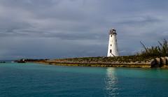 Passing Storm (ebhenders) Tags: lighthouse nassau bahamas ocean water caribbean storm light paradise hog island