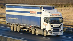 SN67 SOH (panmanstan) Tags: scania ng r450 wagon truck lorry commercial curtainsider freight transport haulage vehicle m62 motorway sandholme yorkshire