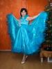 Christmas Princess (blackietv) Tags: cinderella dress blue evening formal fullskirt gown petticoat princess romantic crown tiara crossdresser tgirl transvestite crossdressing transgender christmas tree