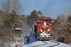 CP 9761 Charging Through Westport (ERIE1960) Tags: railroad railfan train locomotive canadianpacific delawareandhudson freighttrain newyorkrailroads westportny adirondacks ge ac4400