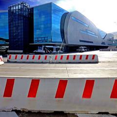 Aeroporto di Roma (pom.angers) Tags: red panasonicdmctz30 february 2017 rome roma fiumicino airport leonardodavinciinternationalairport 100 italy italia europeanunion lazio fromamovingvehicle 200