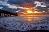 Sunrise (BMADHudson) Tags: sunrise sunset florida southflorida deerfield beach light clouds sun pier water sand