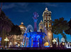 Christmas in Puebla, Mexico (Sam Antonio Photography) Tags: mexico zocalo architecture historic building old historical mexican latin religious travel town square city religion landmark puebla unesco view colonial heritage ancient tourism church cathedral destination baroque night dome catholic christian magic colorful tower cityscape spanish water fountain statue beautiful catholicism cultural tourist metropolitan samantoniophotography