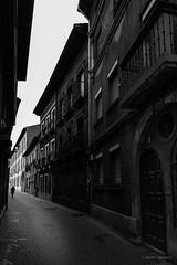 Recorrido matutino (AvideCai) Tags: avidecai bn blancoynegro calle ciudad león vertical tamron2470 gente