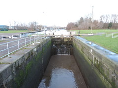 Lock Gates (s1ng0) Tags: river spikeisland widnes iphone westbank cheshire lockgate boats