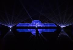 Light Magic (MrBlueSky*) Tags: palmhouse laser lights christmas christmaslights building architecture water night outdoor colour kewgardens royalbotanicgardens london pentax pentaxart pentaxlife pentaxk1 pentaxawards pentaxflickraward aficionados